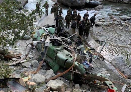 भारतीय सेनाको ध्रुव हेलिकप्टर जम्मु कश्मीरमा दुर्घटनाग्रस्त