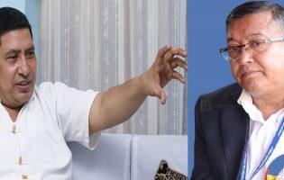 नारायणकाजी श्रेष्ठ र दिनेश कुमार थपलिया