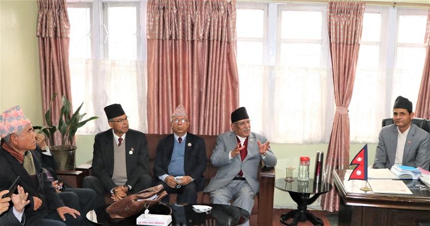 प्रचण्ड नेपाल पक्षको एताहरु संसद सचिबालयमा