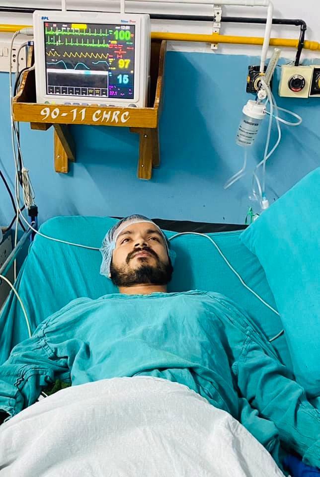 चर्चित पत्रकार अपिल त्रिपाठीको स्वास्थ्यमा एक्कासी समस्या, अस्पताल भर्ना